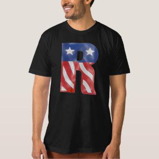 T-shirt drapeau américain - Etats-Unis-dans-r