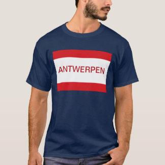 T-shirt Drapeau Antwerpen Anvers Anvers Belgique
