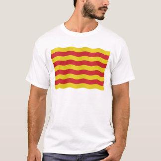 T-shirt Drapeau catalan - arrière - plan transparent