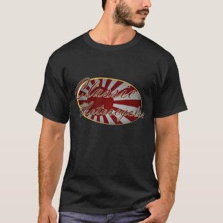 T-shirt Drapeau classique de Japonais de motos