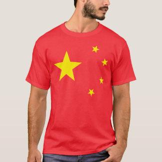 """T-shirt Drapeau """"classique """" de la Chine"""