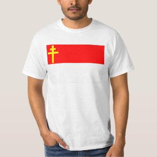 T-shirt Drapeau d'Alsace-Lorraine