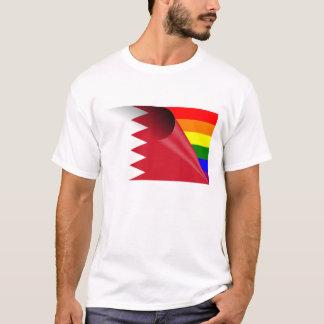 T-shirt Drapeau d'arc-en-ciel de gay pride du Bahrain