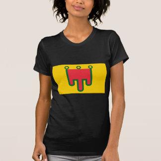 T-shirt Drapeau d'Auvergne - Drapeau de la Région Auvèrnhe