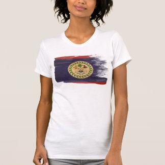 T-shirt Drapeau de Belize