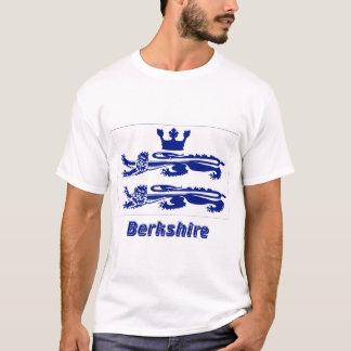 T-shirt Drapeau de Berkshire avec le nom