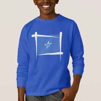 T-shirt Drapeau de brosse de la Somalie