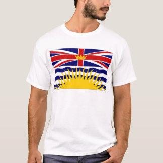 T-shirt Drapeau de Colombie-Britannique du Canada