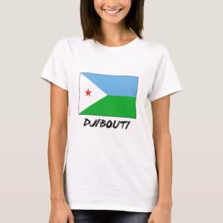 T-shirt Drapeau de Djibouti