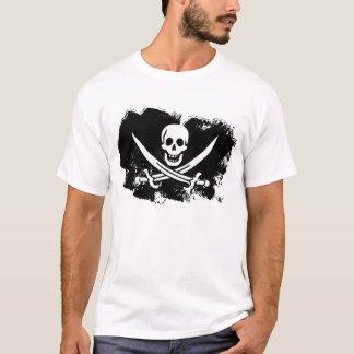 T-shirt Drapeau de fantôme de Jack de calicot