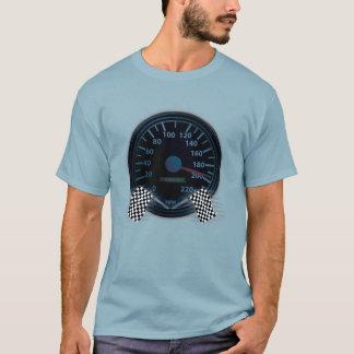 T-shirt DRAPEAU de FINITION de TACHYMÈTRE de base de