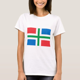 T-shirt Drapeau de Groningue