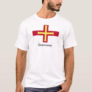 T-shirt Drapeau de Guernesey
