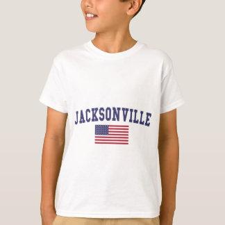 T-shirt Drapeau de Jacksonville OR USA
