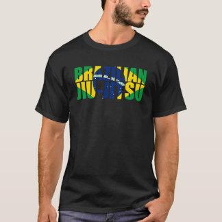 T-shirt Drapeau de Jiu Jitsu de Brésilien
