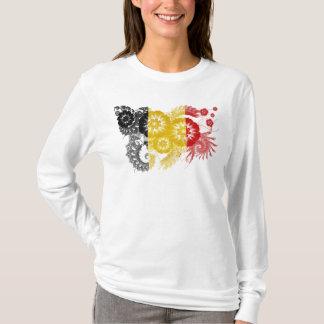 T-shirt Drapeau de la Belgique