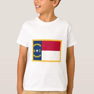 T-shirt Drapeau de la Caroline du Nord