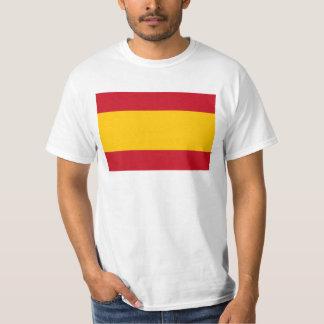 T-shirt Drapeau de l'Espagne, Bandera de España, Bandera