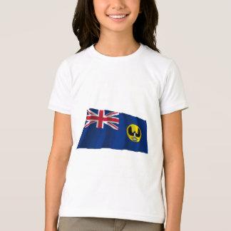 T-shirt Drapeau de ondulation d'Australie du sud