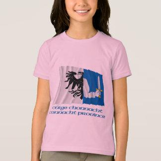 T-shirt Drapeau de ondulation de province de Connacht avec