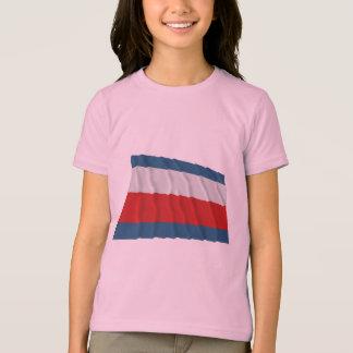 T-shirt Drapeau de ondulation de Trencin