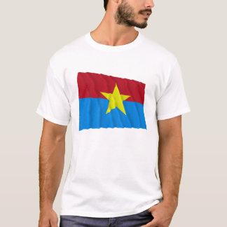 T-shirt Drapeau de ondulation de Viet Cong