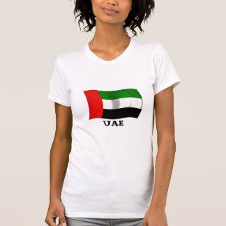 T-shirt Drapeau de ondulation des EAU