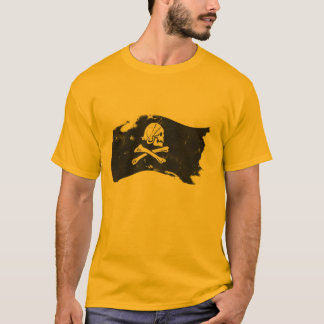 T-shirt drapeau de pirate