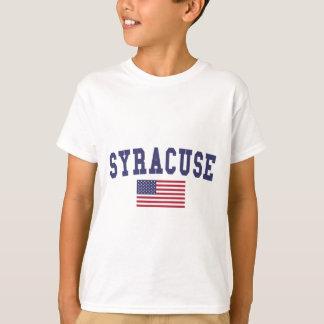 T-shirt Drapeau de Syracuse USA