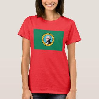 T-shirt Drapeau de Washington