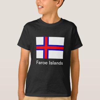 T-shirt Drapeau des Iles Féroé