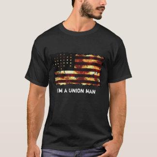 T-shirt Drapeau des syndicats, guerre civile, bannière