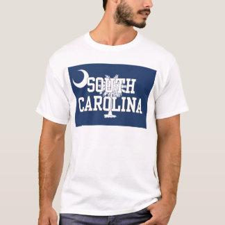 T-shirt Drapeau d'état de la Caroline du Sud