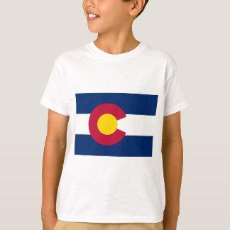 T-shirt Drapeau d'état du Colorado