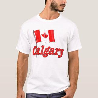 T-shirt Drapeau du Canada - Calgary