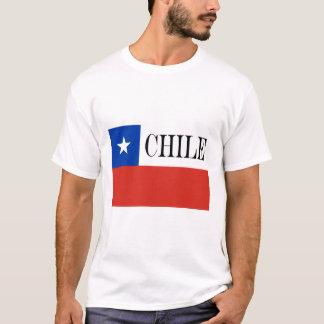 T-shirt Drapeau du Chili