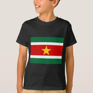 T-shirt Drapeau du Surinam