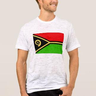 T-shirt Drapeau du Vanuatu