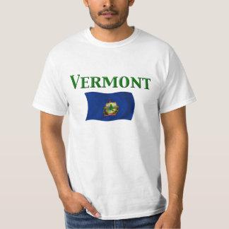 T-shirt Drapeau du Vermont