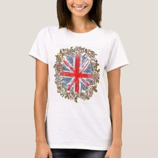 T-shirt drapeau floral des syndicats du cric skull.the des