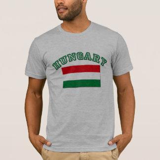 T-shirt Drapeau hongrois