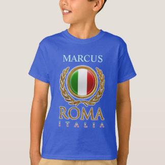 T-shirt Drapeau italien personnalisable