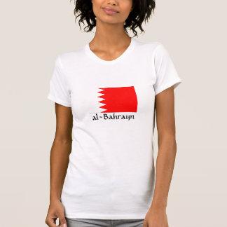 """T-shirt Drapeau national """"Al-Bahrayn """" du Bahrain"""
