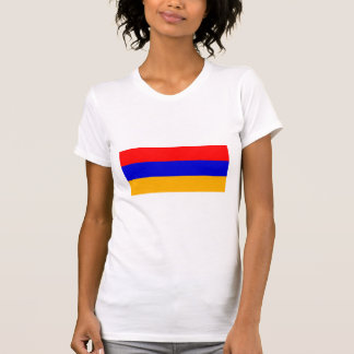 T-shirt Drapeau national de l'Arménie