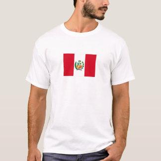 T-shirt Drapeau national du Pérou