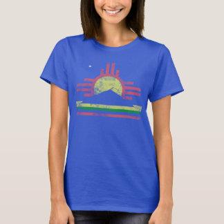 T-shirt Drapeau patriotique vintage mignon de Roswell
