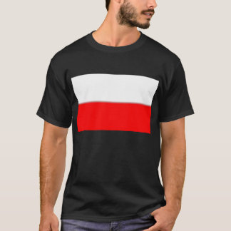 T-shirt Drapeau polonais