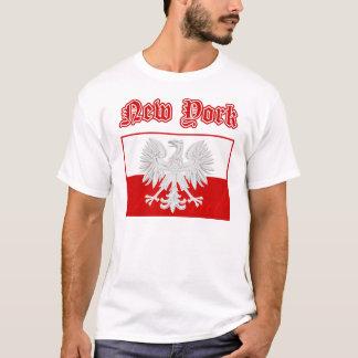 T-shirt Drapeau polonais de New York