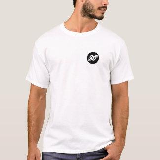 T-shirt droit de femme d'homme droit