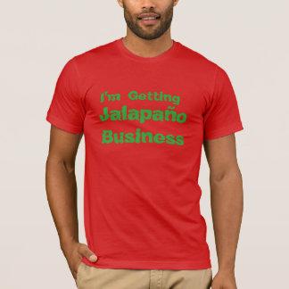 """T-shirt drôle """"affaires de Jalapeno """""""